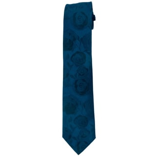 Davidoff 100-percent Silk Deep Teal Neck Tie