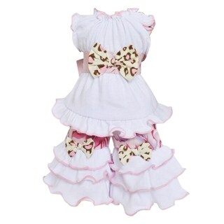 AnnLoren Shabby Floral Leopard Doll Clothing for 18-inch Dolls