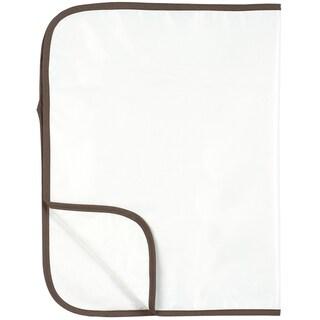 Kushies Organic Waterproof Deluxe White Change Pad