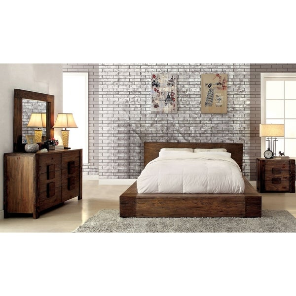Furniture of America Tyla Transitional 4-piece Bedroom Set