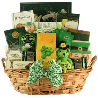 Luck O' The Irish Large St. Patrick's Day Gourmet Gift Basket