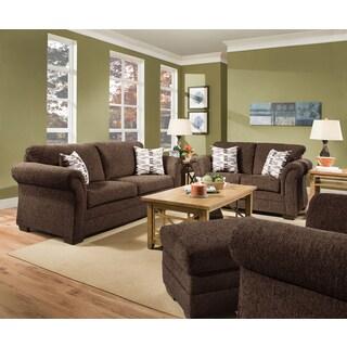 Simmons Upholstery Ventura Chocolate Sofa