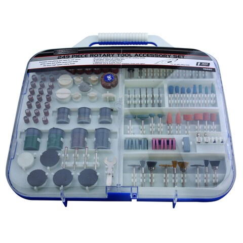 Professional Woodworker 249-piece Rotary Tool Accessory Set