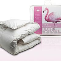 Canadian Down & Feather Company White Down Comforter (Summer Weight)
