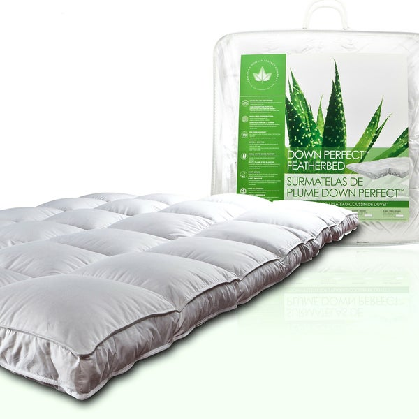 Canadian Down & Feather Company Down Perfect Pillow Top Featherbed