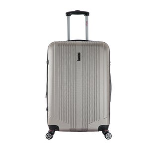 InUSA San Francisco 22-inch Lightweight Hardside Spinner Suitcase (Option: Champagne)