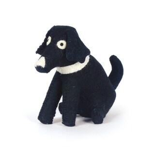 Black Dog Doorstop