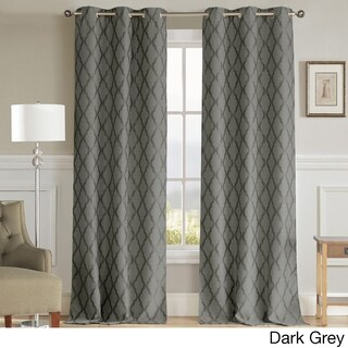 Duck River Kitterina Grommet Top Thermal Insulated Blackout Curtain Panel Pair