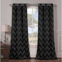 Duck River Lysanna Grommet Top Thermal Insulated Blackout Curtain Panel Pair - 38x84