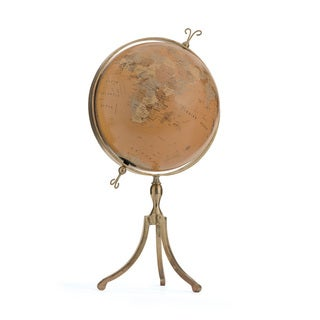 Hip Vintage Columbus Globe Accent Piece