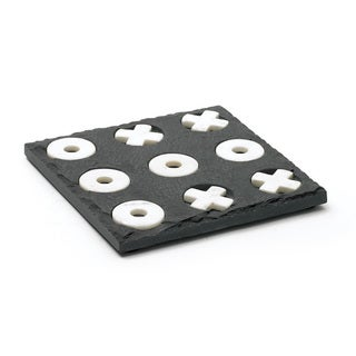 Slate and Marble Tic Tac Toe