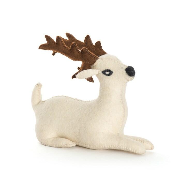 Bambi Door Stopper (Hip Vintage Reindeer Door Stopper)