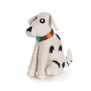 Hip Vintage Dalmatian Door Stopper Accent Piece