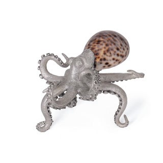 Hip Vintage Tortoise Octopus Accent Piece