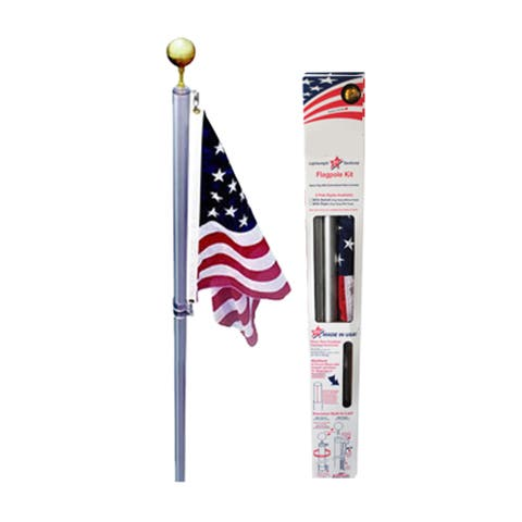 Ezpole Outdoor Garden Defender Flagpole Kit