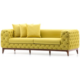 Bienal Mahfel Quilted 3-seater Sofa