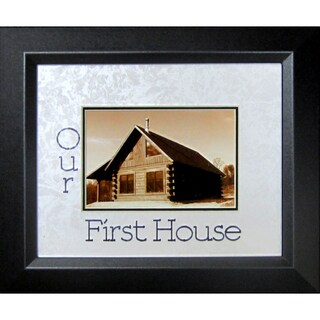 Our First House Photo Frame