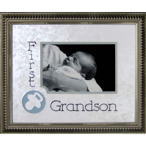 First Grandson Photo Frame