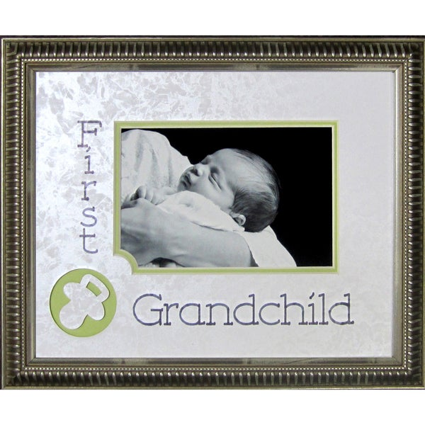 Shop First Grandchild Photo Frame Free Shipping On