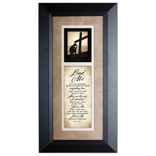 Lead Me Wood Framed Art with Easel