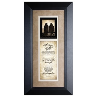 A Prayer For You Wood Framed Art with Easel