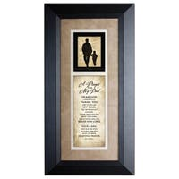 Prayer For My Dad Wood Framed Art with Easel