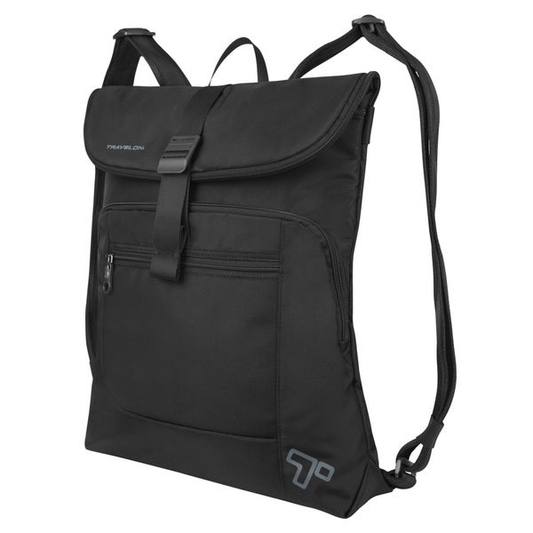 17f3c44da20 Shop Travelon Anti-Theft Urban Flap-Over Backpack - Free Shipping Today -  Overstock.com - 11414078