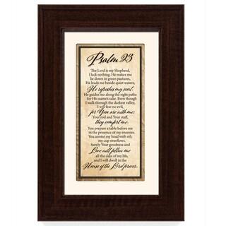Psalm 23 Framed Art