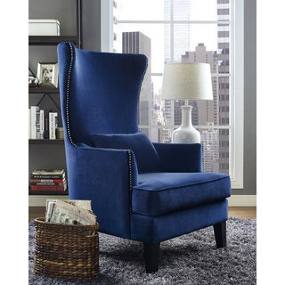 Relatively Wingback Chairs, Blue Living Room Chairs For Less | Overstock QQ99
