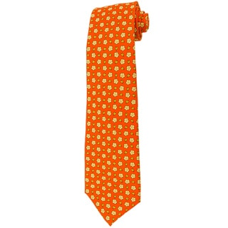 Davidoff 100-percent Silk Orange Neck Tie