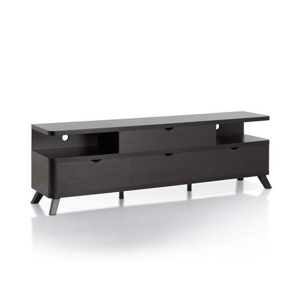 Furniture of america toletti 70 4 drawer tv console for Furniture 70 off