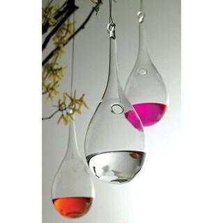 SB Modern Home Hanging Glass Teardrop Vase