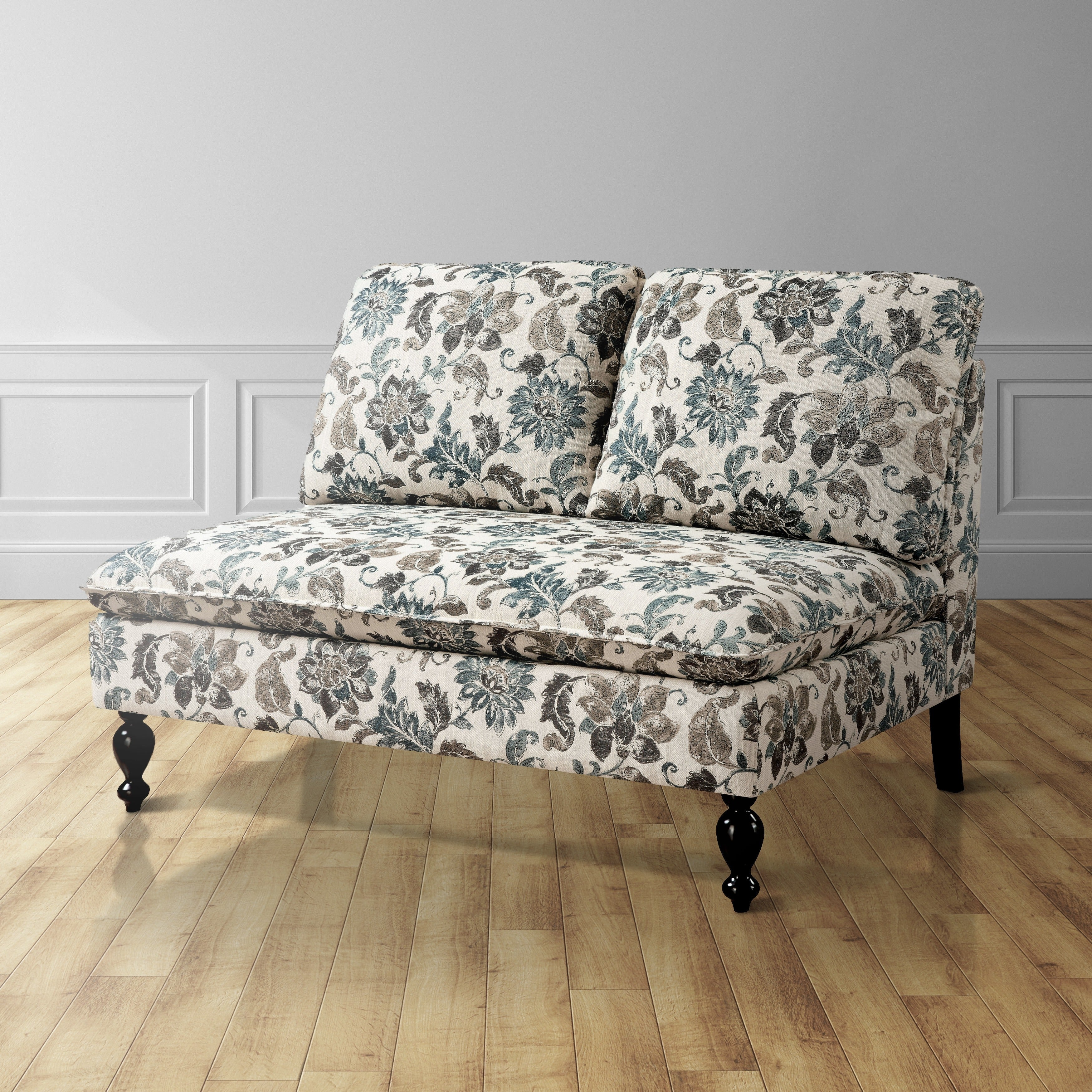 Furniture of America Deidre Romantic Split Back Loveseat ...
