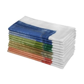 Celebration Ombre Assorted 12-piece Dinner Napkin Set