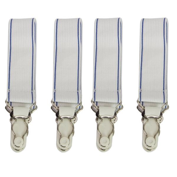 Elastic Sheet Straps (Set of 4)
