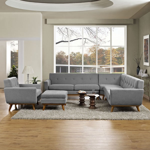 Shop Engage 5-piece Sectional Sofa - On Sale - Free Shipping Today ...