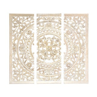 "Wood Wall Panel Set Of 3 48""W, 48""H"