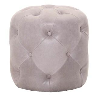 Pearl Grey Kendall Ottoman