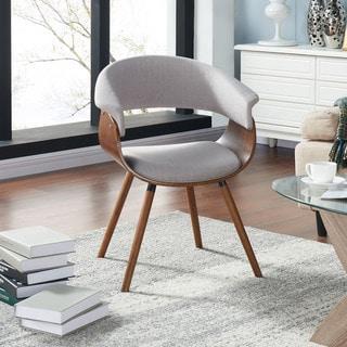 Carson Carrington Visby Mid-century Bent Wood Accent Chair