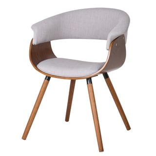 Holt Mid Century Bent Wood Accent Chair