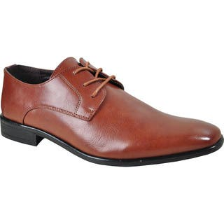 BRAVO Men Dress Shoe KING-1 Oxford - Wide Width Available|https://ak1.ostkcdn.com/images/products/11414316/P18378056.jpg?impolicy=medium
