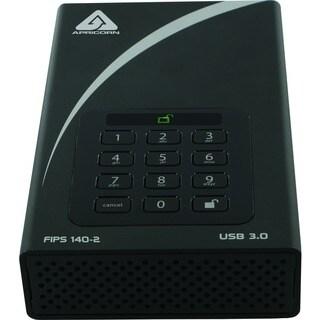 Apricorn Aegis Padlock DT FIPS ADT-3PL256F-8000 8 TB Hard Drive - 3.5