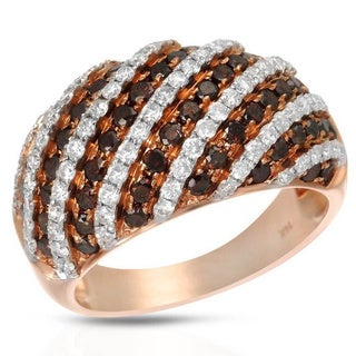 KREMENTZ 14k Gold 1 7/8ct TDW Diamond Ring (Size 7)