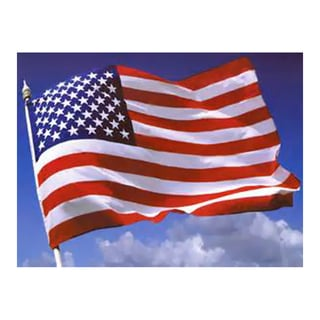 Ezpole 3' x 5' Home Outdoor Garden USA Nylon Flag