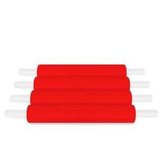 Red Pallet Stretch Wrap Handwrap 20 In 1000 Ft 80 Ga 288 Rolls (72 Cases)