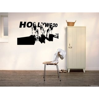 Hollywood Girls Stars Wall Art Sticker Decal