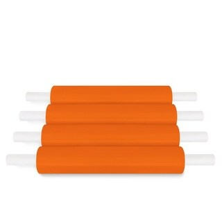Orange Pallet Stretch Wrap Handwrap 20 In 1000 Ft 80 Ga 288 Rolls (72 Cases)