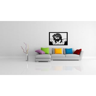 Deity of Jesus Christ in the frame Wall Art Sticker Decal