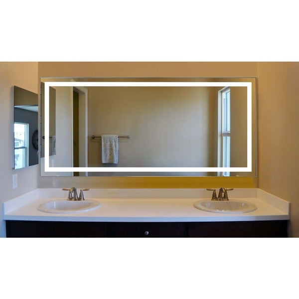 Shop Innoci Usa Terra Led Wall Mount Lighted Vanity Mirror Featuring