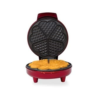 Kalorik Red Metallic Heart Shape Waffle Maker|https://ak1.ostkcdn.com/images/products/11416282/P18379705.jpg?impolicy=medium